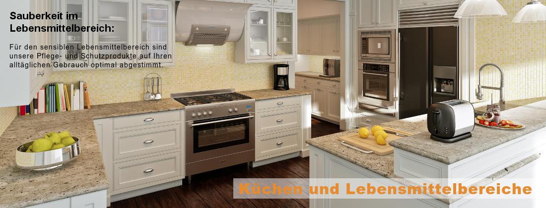 Arbeitsplatte in der Küche reinigen, schützen und pflegen
